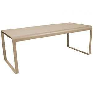 Table de jardin BELLEVIE Fermob muscade
