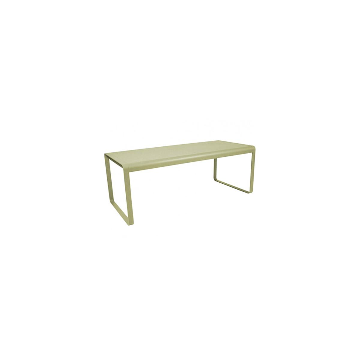 Table de jardin BELLEVIE Fermob tilleul