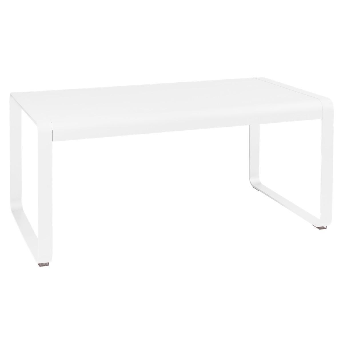 Table de jardin mi-hauteur 80x140cm BELLEVIE Fermob coton