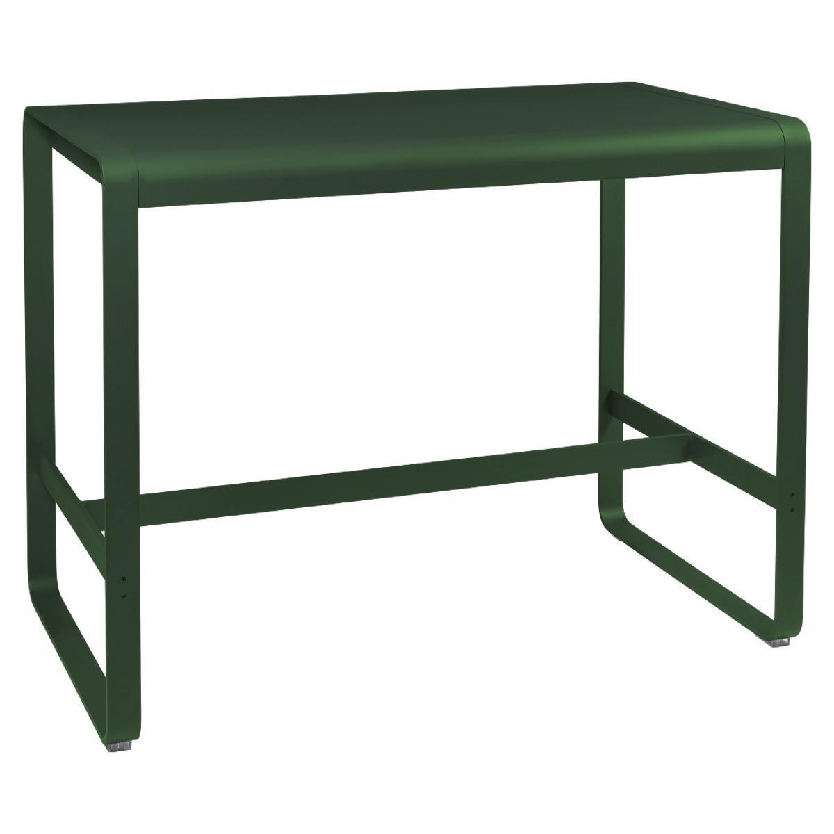 Table haute 80x140cm BELLEVIE Fermob cèdre