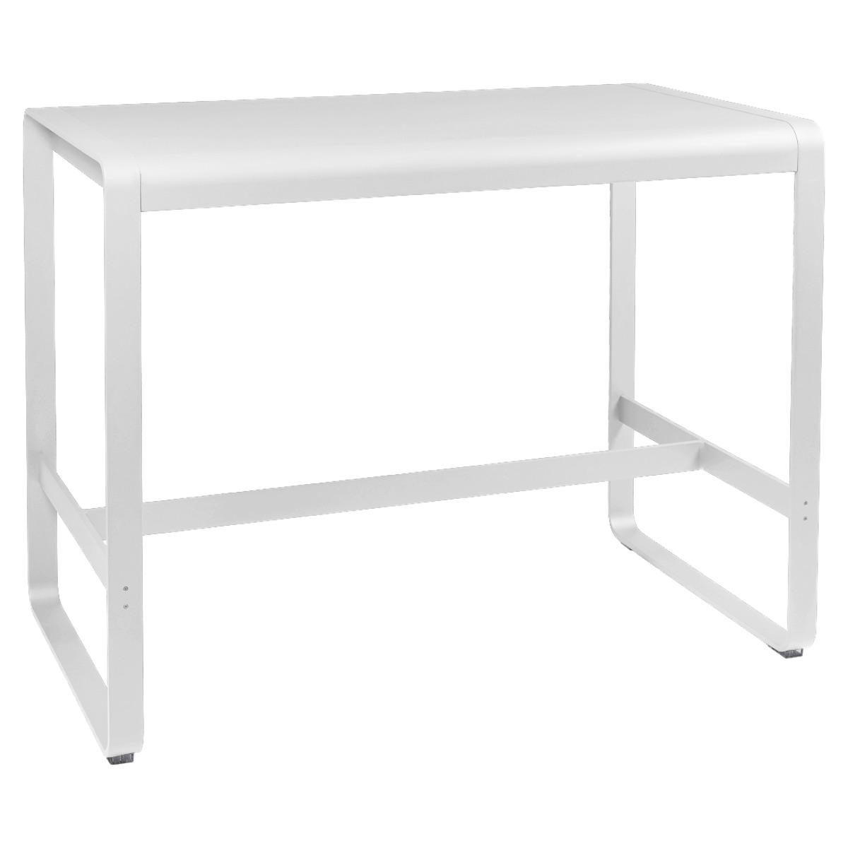 Table haute 80x140cm BELLEVIE Fermob coton