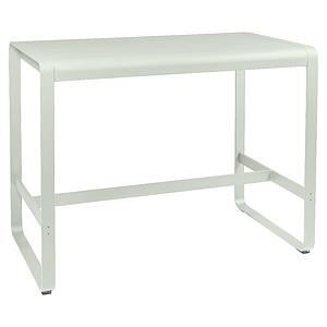 Table haute 80x140cm BELLEVIE Fermob gris argile