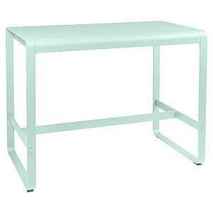 Table haute 80x140cm BELLEVIE Fermob menthe glaciale
