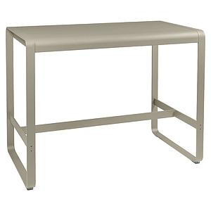 Table haute 80x140cm BELLEVIE Fermob muscade