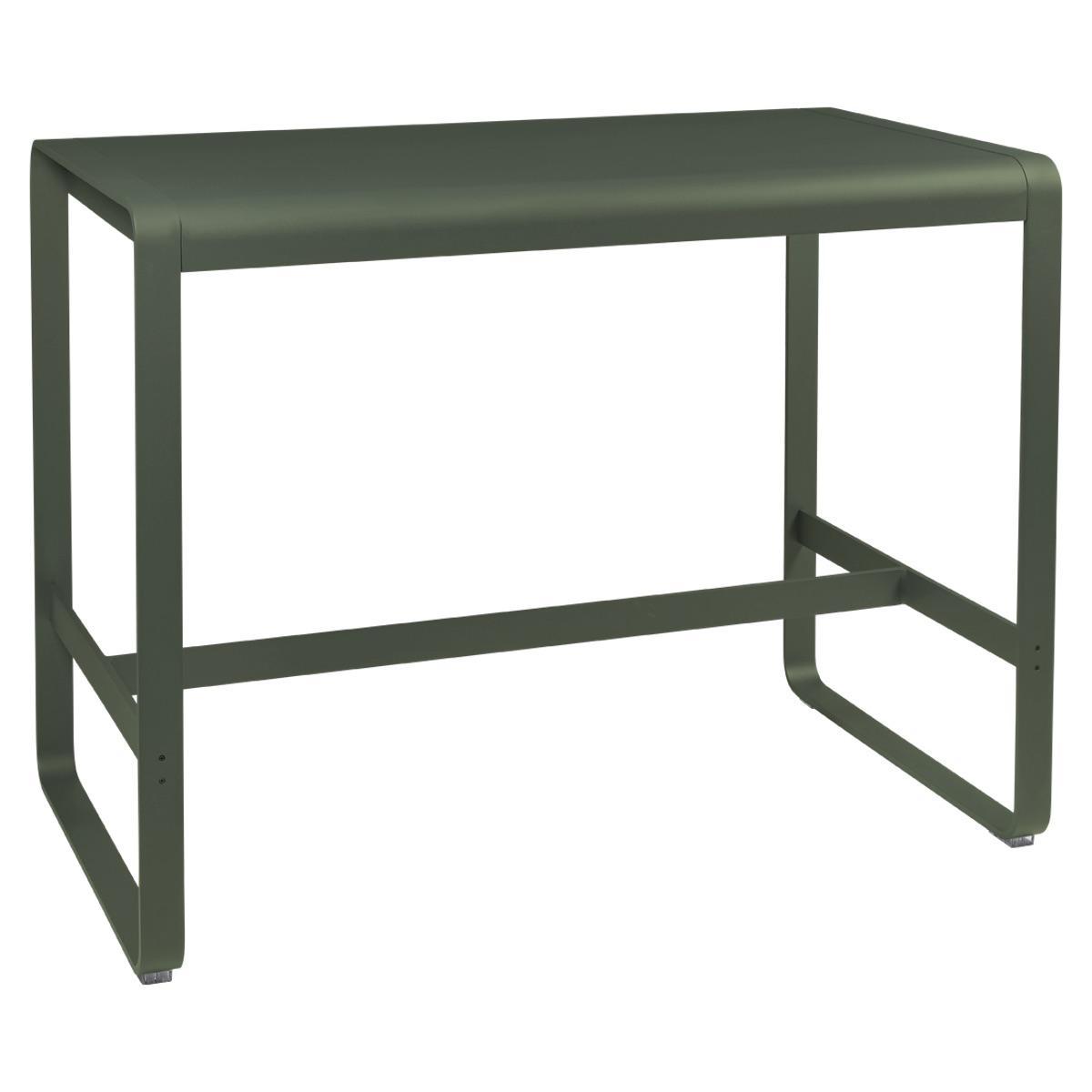 Table haute 80x140cm BELLEVIE Fermob romarin