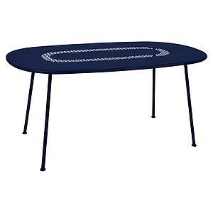 Table LORETTE Fermob 160x90 bleu abysse