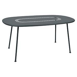Table LORETTE Fermob 160x90 bleu acapulco