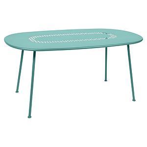 Table LORETTE Fermob 160x90 bleu lagune