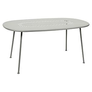 Table LORETTE Fermob 160x90 gris métal