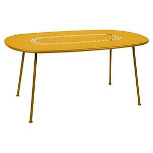 Table LORETTE Fermob 160x90 jaune miel