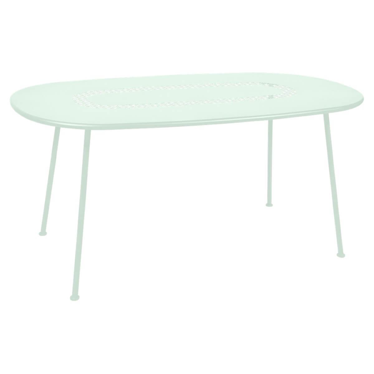 Table LORETTE Fermob 160x90 menthe glaciale