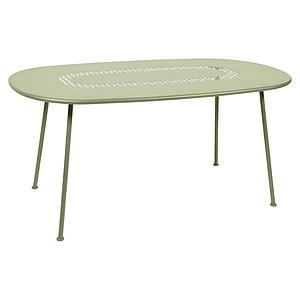 Table LORETTE Fermob 160x90 vert tilleul