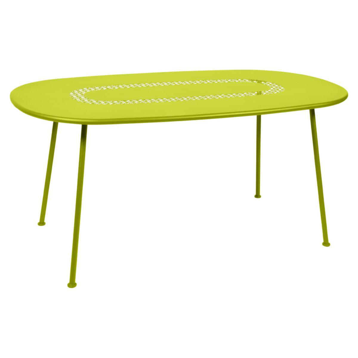 Table LORETTE Fermob 160x90 vert verveine