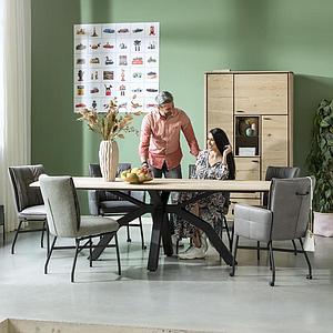 Table ovale 220x108cm LIVADA Henders & Hazel naturel