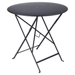 Table pliable 77cm BISTRO Fermob gris carbone