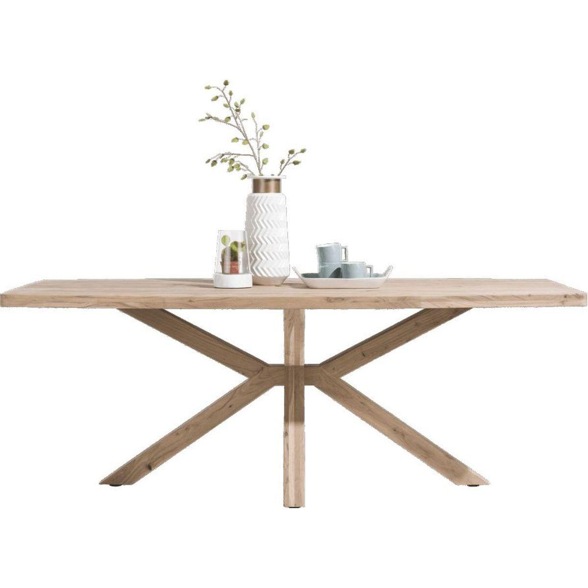 Table QUEBEC HetH 240x110cm pieds en bois
