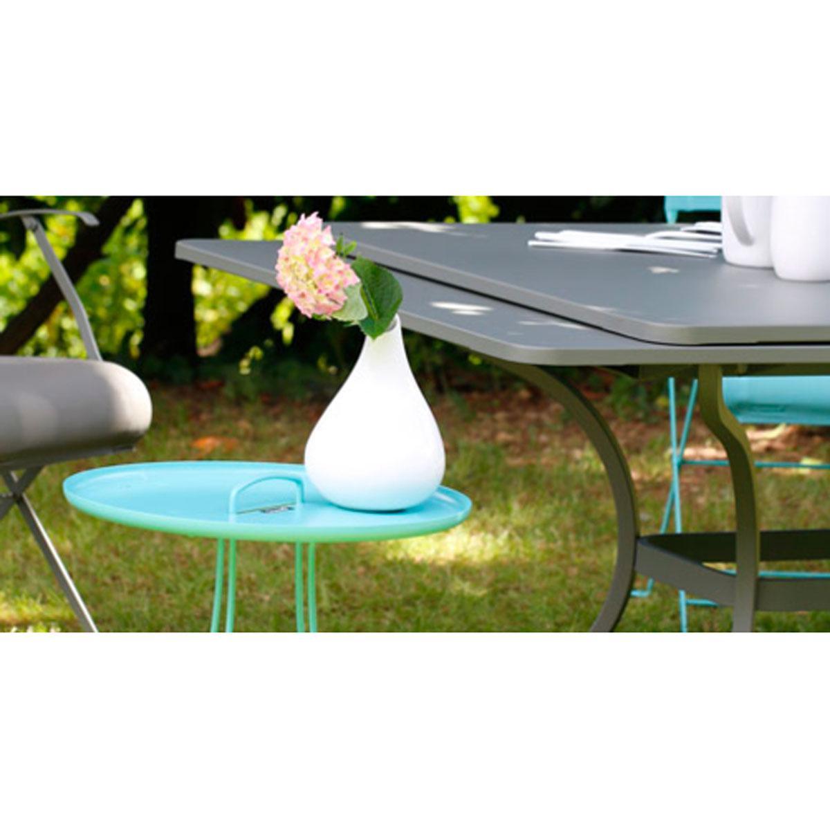 Abitare Living Lu Table Rallonge Romane Fermob Coquelicot
