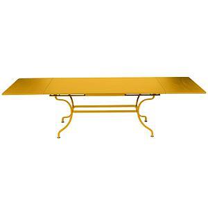 Table rallonge ROMANE Fermob miel