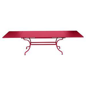 Table rallonge ROMANE Fermob rose praline