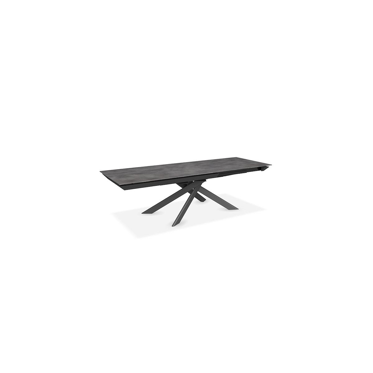Table rectangulaire extensible ECLISSE Calligaris céramique-verre ciment