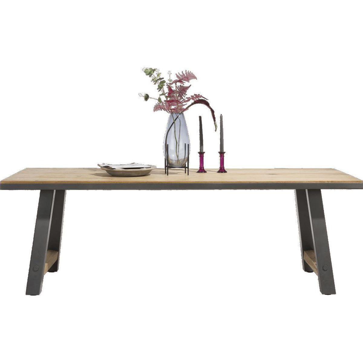 Table rectangulaire FARMLAND H&H 180 x 100cm