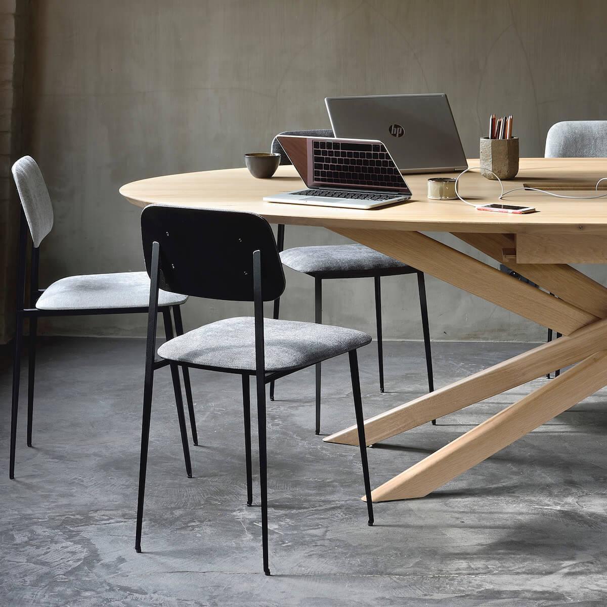 Table réunion 138x267cm MIKADO Ethnicraft chêne