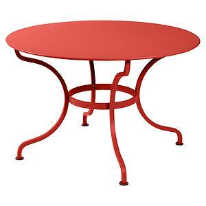 Table ronde 117cm ROMANE Fermob capucine