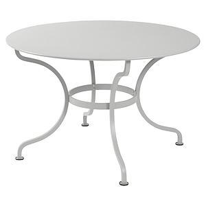 Table ronde 117cm ROMANE Fermob gris métal