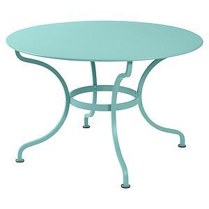 Table ronde 117cm ROMANE Fermob lagune