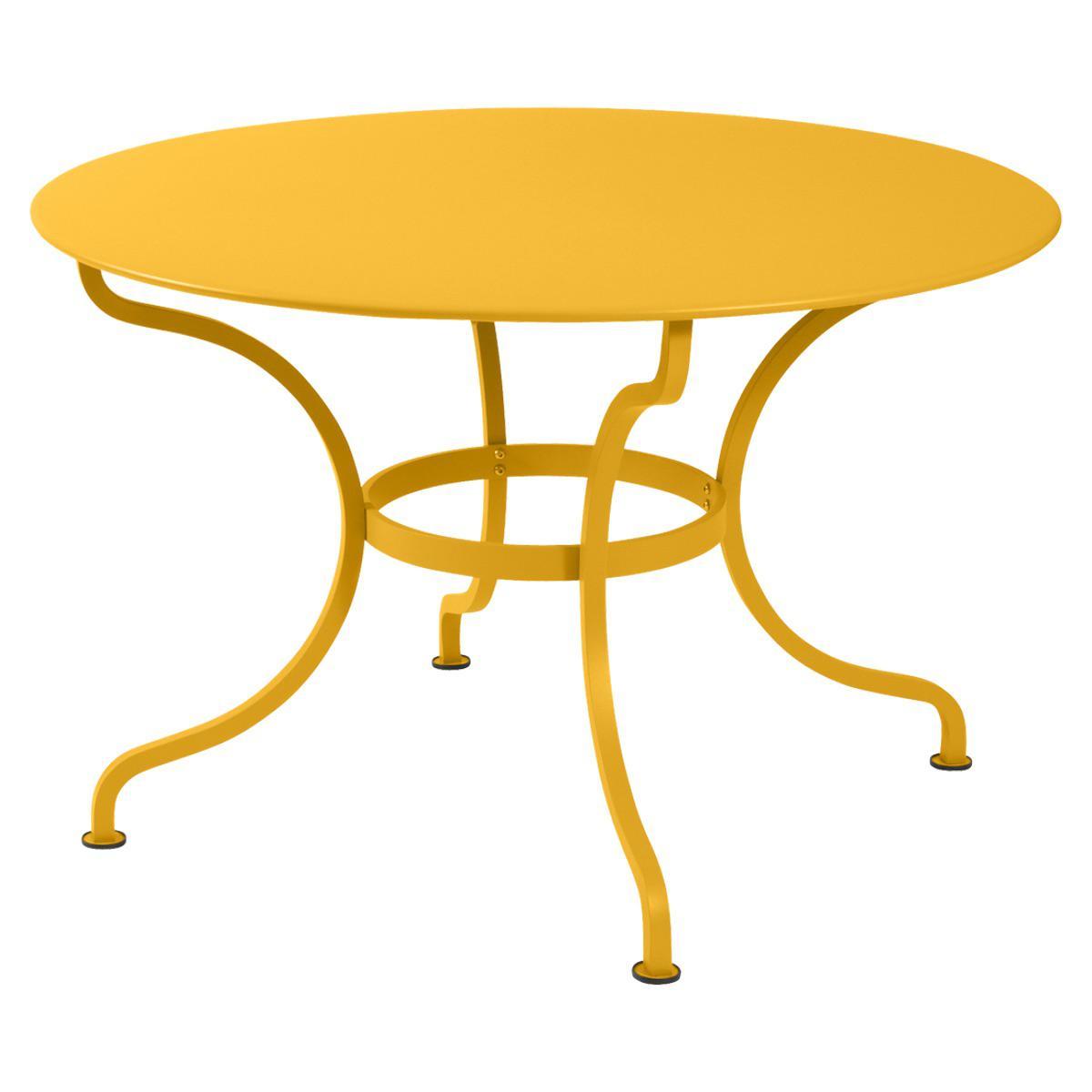 Table ronde 117cm ROMANE Fermob miel