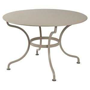 Table ronde 117cm ROMANE Fermob muscade