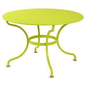Table ronde 117cm ROMANE Fermob verveine