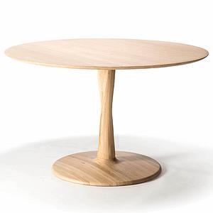 Table ronde 127cm TORSION Ethnicraft chêne
