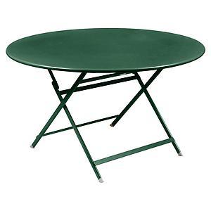 Table ronde 128cm CARACTERE Fermob cèdre