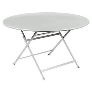 Table ronde 128cm CARACTERE Fermob gris argile