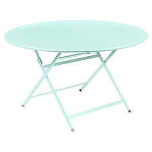 Table ronde 128cm CARACTERE Fermob menthe glaciale