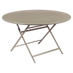 Table ronde 128cm CARACTERE Fermob muscade