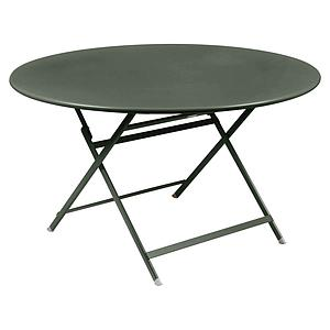 Table ronde 128cm CARACTERE Fermob romarin