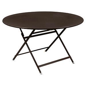 Table ronde 128cm CARACTERE Fermob rouille