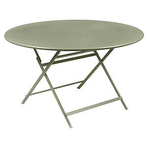 Table ronde 128cm CARACTERE Fermob tilleul