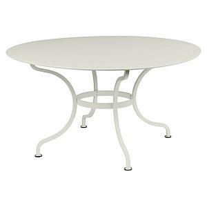 Table ronde 137cm ROMANE Fermob gris argile