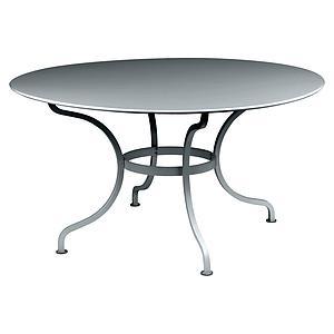 Table ronde 137cm ROMANE Fermob gris orage