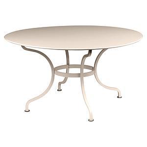 Table ronde 137cm ROMANE Fermob muscade