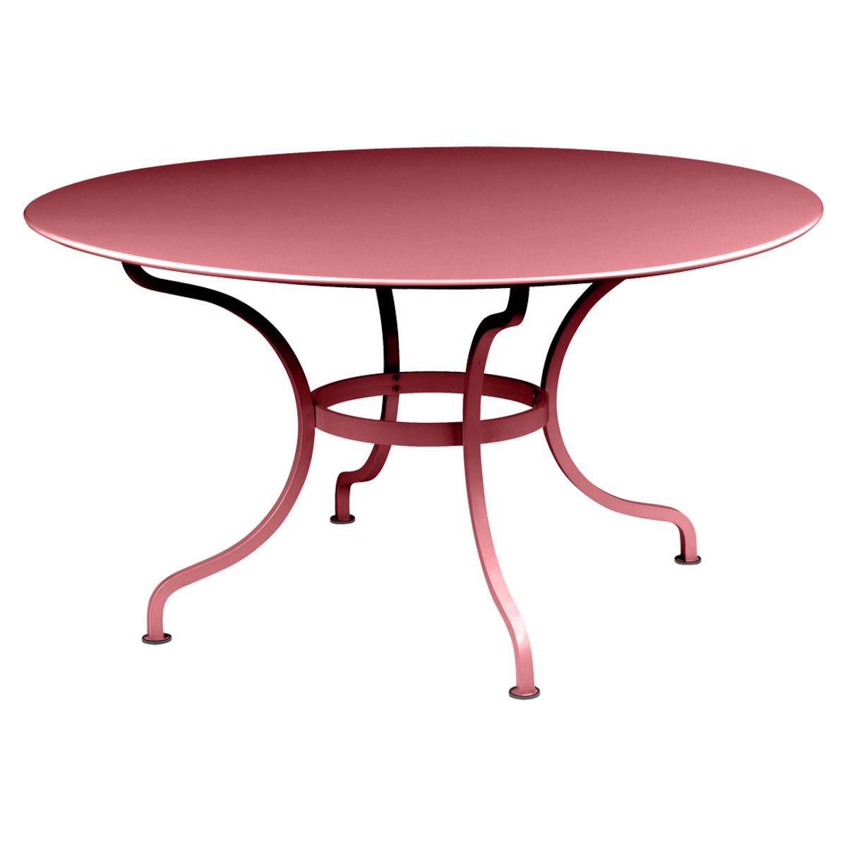 Table ronde 137cm ROMANE Fermob piment