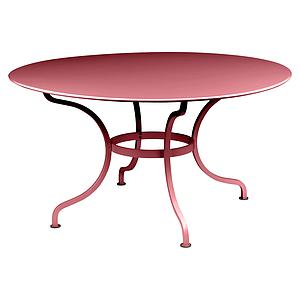 Table ronde 137cm ROMANE Fermob piment