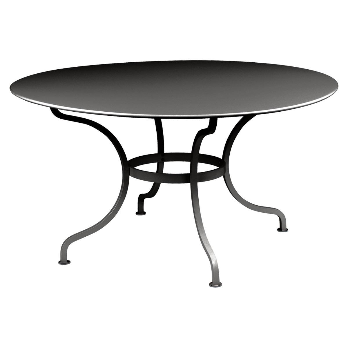 Table ronde 137cm ROMANE Fermob réglisse