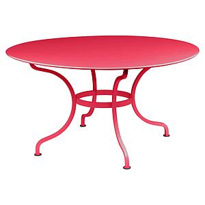 Table ronde 137cm ROMANE Fermob rose praline