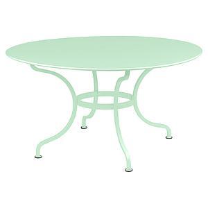 Table ronde 137cm ROMANE Fermob vert opaline