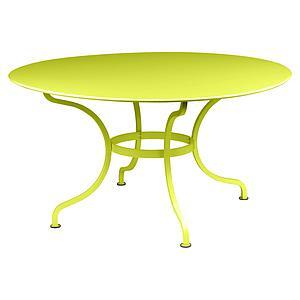 Table ronde 137cm ROMANE Fermob verveine