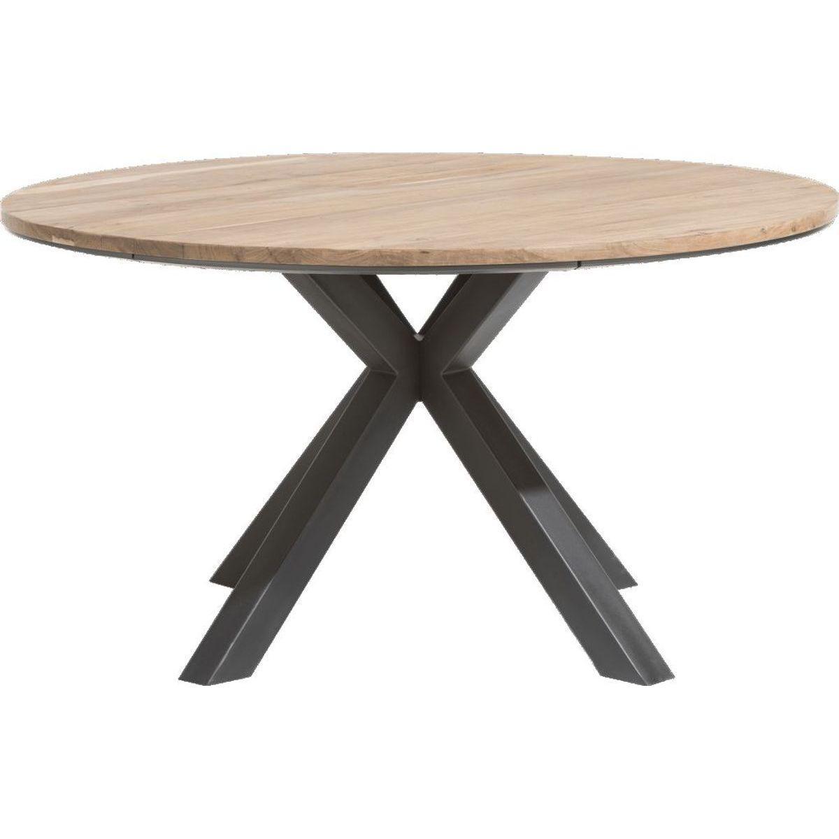 Table ronde COLOMBO Xooon Chêne railway brown 150cm